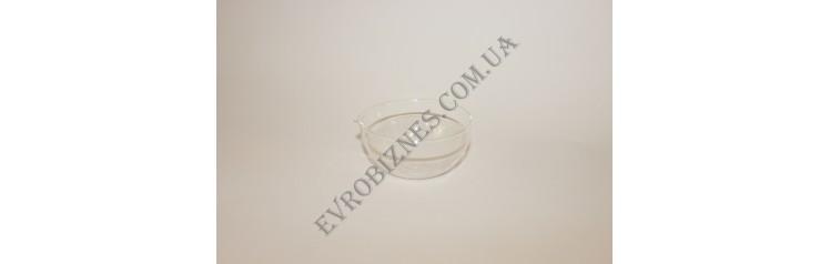 Чаша испарительная плоскодонная, с носиком, 60мм, Boro 3.3 TC