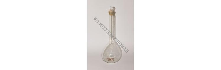 Колба мірна з скляною пробкою 1000мл (2 клас ГОСТ 1770-74)