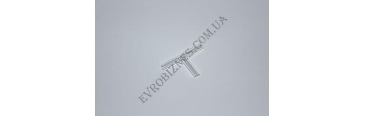 Трубка соединительная, Т - образная, 6х50, Boro 3.3 TC