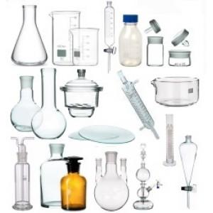Лабораторний посуд зі скла
